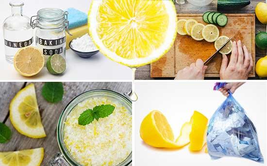레몬의 다양한 사용법