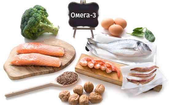 Продукты, богатые жирами Омега-3