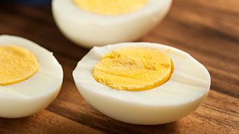 ovos cozidos duros