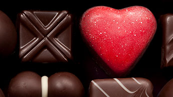 다크 초콜릿 박스