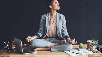 A Meditação Realmente Alivia o Estresse