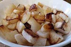 風味豊かなココナッツオイル焼きカブ レシピ