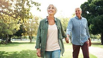 ウォーキングにはいかに健康や長寿に効能があるか