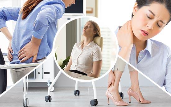 앉아 있는 행위는 관절을 손상시킬 수 있으며