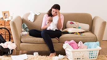 Depressão Causada pela Maternidade