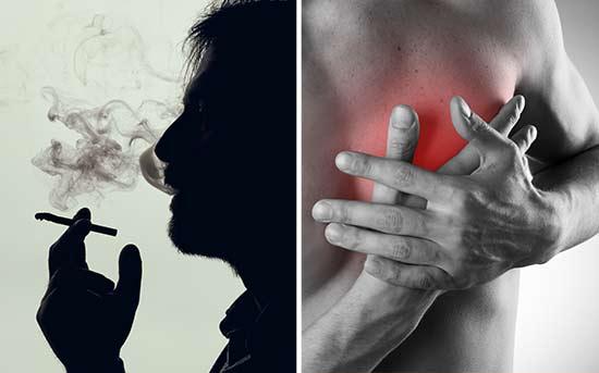 吸烟可能增加心脏疾病风险