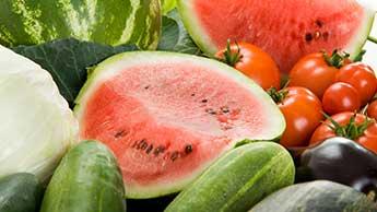 健康にいい最適な夏の食品