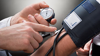 Medindo a pressão sanguínea