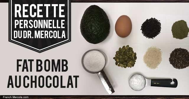 Fat Bomb au Chocolat