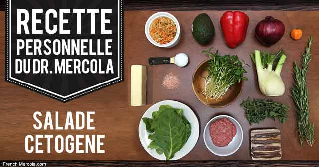 Salade Cétogène