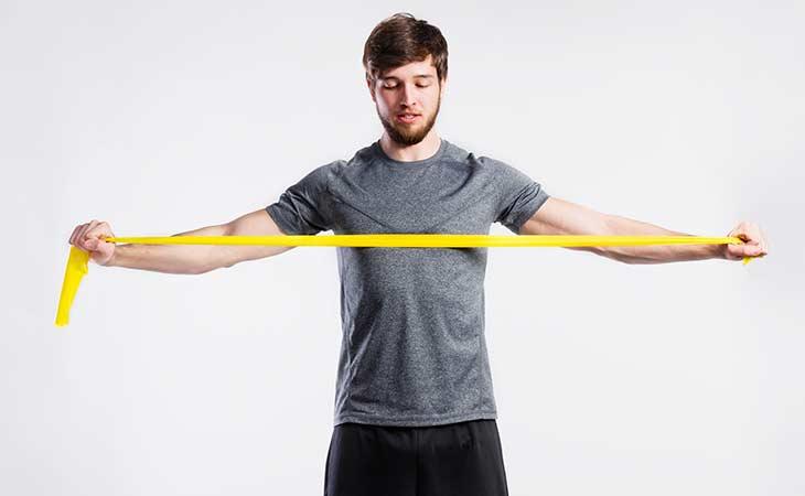 掌握阻力带锻炼