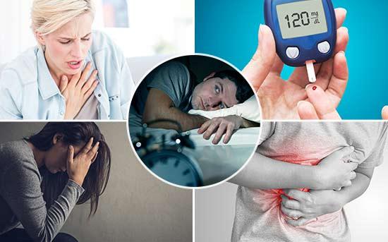 다양한 건강 문제를 일으키는 늦게 잠드는 습관