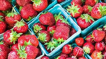 Les fraises sont toujours les plus contaminées de la liste 'dirty dozen'