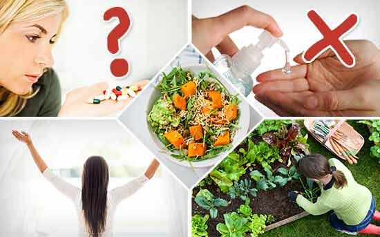장 건강을 증진시키는 5가지 방법