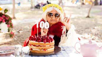 mulher centenaria