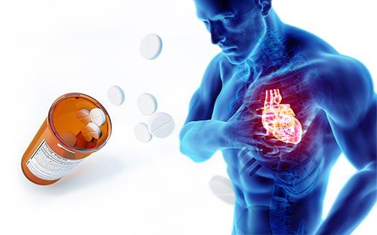 阿司匹林可能掩盖正在形成的心脏事件