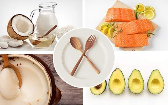 케토제닉 식단 식품들