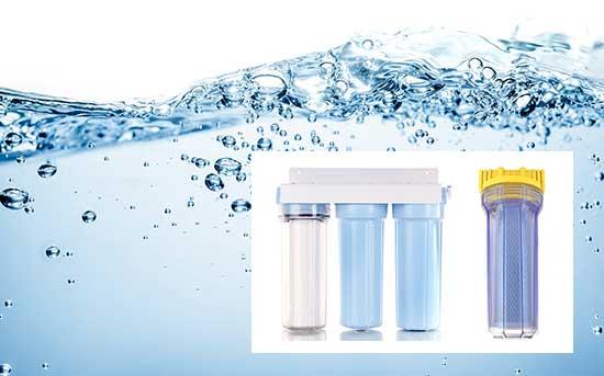 안전한 수돗물을 위한 필터 시스템