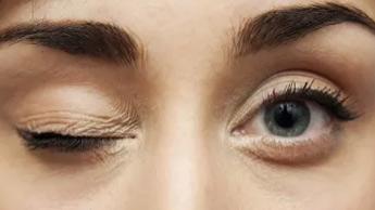 Contração do Olho