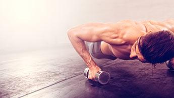 Liegestütze: Die einfache Übung, die Ihren prallen Bauch vertreiben kann