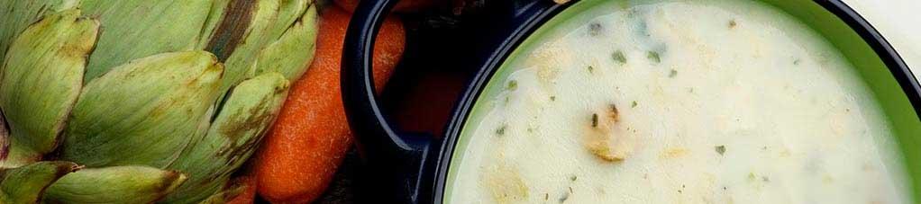 韭葱洋蓟汤