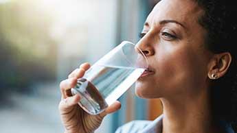 água filtrada de casa