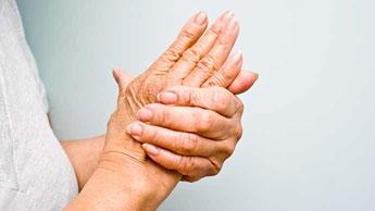 les mains d'une femme