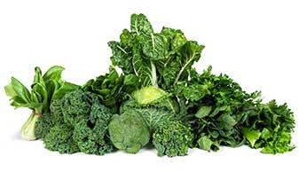 녹색 채소의 이점