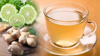 Chá Tônico: Experimente essa Potente Bebida de Gengibre, Vinagre de Cidra de Maçã, Bergamota