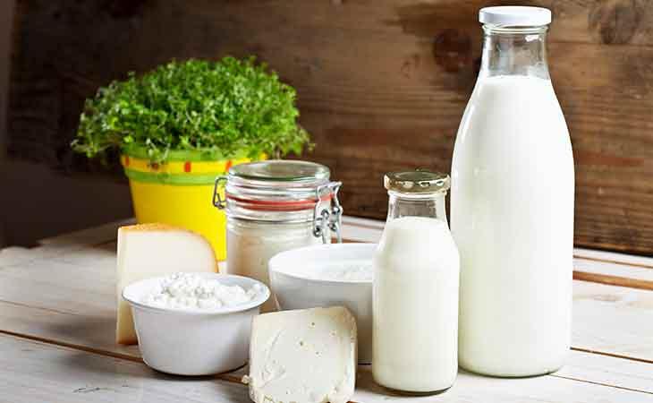 全脂奶,低脂牛奶