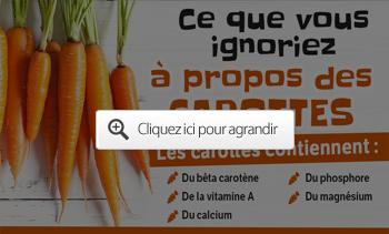 Ce que vous ignoriez à propos des carottes