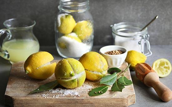 摩洛哥式柠檬蜜饯
