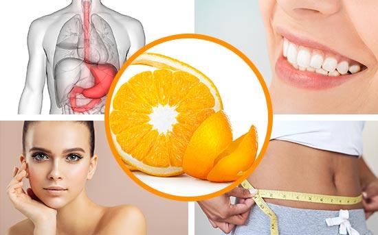 오렌지 또는 감귤류 껍질의 다양한 사용법