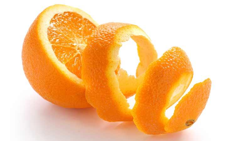 食用有机橘子皮