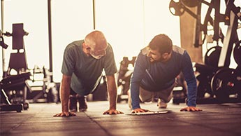 Homens capazes de fazer 40 flexões têm menor risco de doenças cardíacas