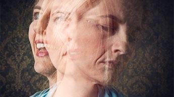 une femme atteinte de trouble bipolaire