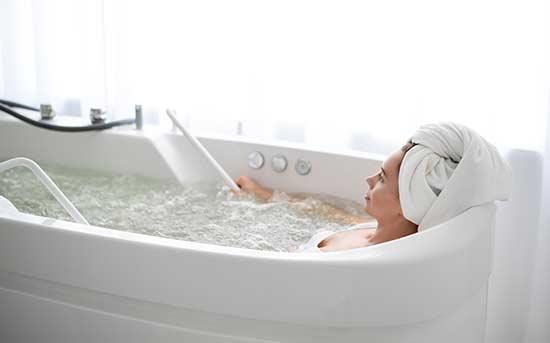 휴식을 주는 목욕