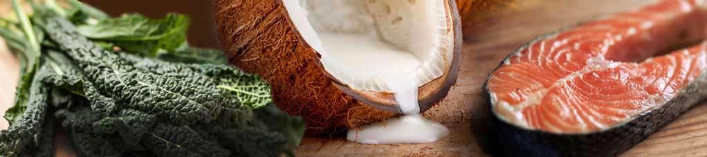 Receita saudável com leite de coco