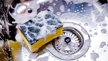 éponge vaisselle