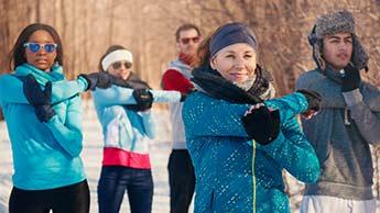 exercícios de inverno