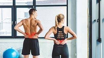 背中の痛み改善運動