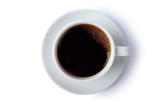 커피 한 컵