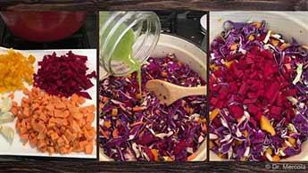 Przepis na świeże i doskonałe kiszone warzywa