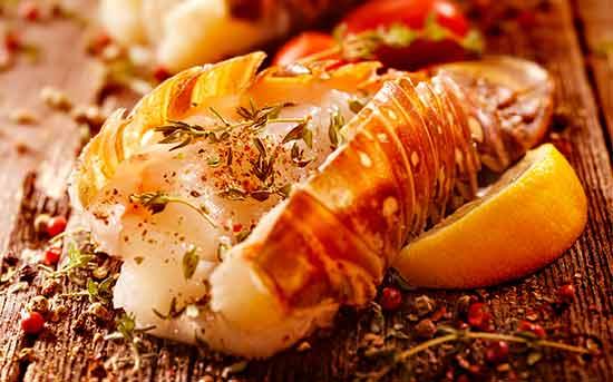烧烤龙虾尾