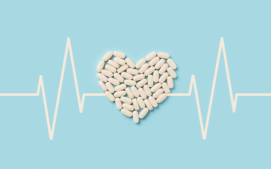 약과 심장