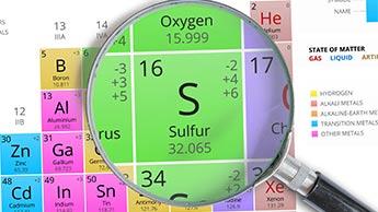 enxofre mineral