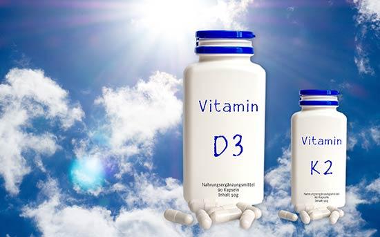 비타민 D3와 비타민 K2