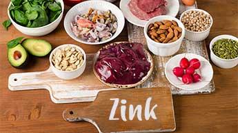 lebensmittel die zinc