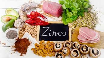 A deficiência de zinco está associada à sensibilidade ao glúten
