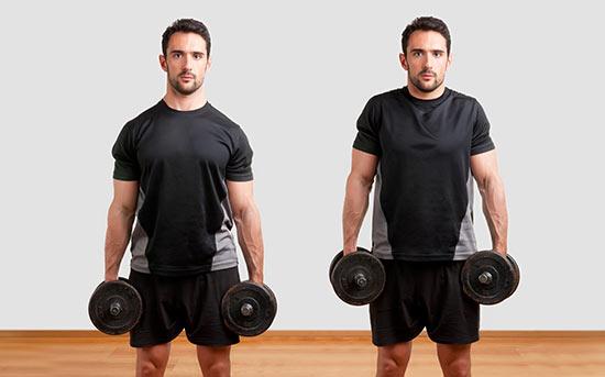Elevação de ombro